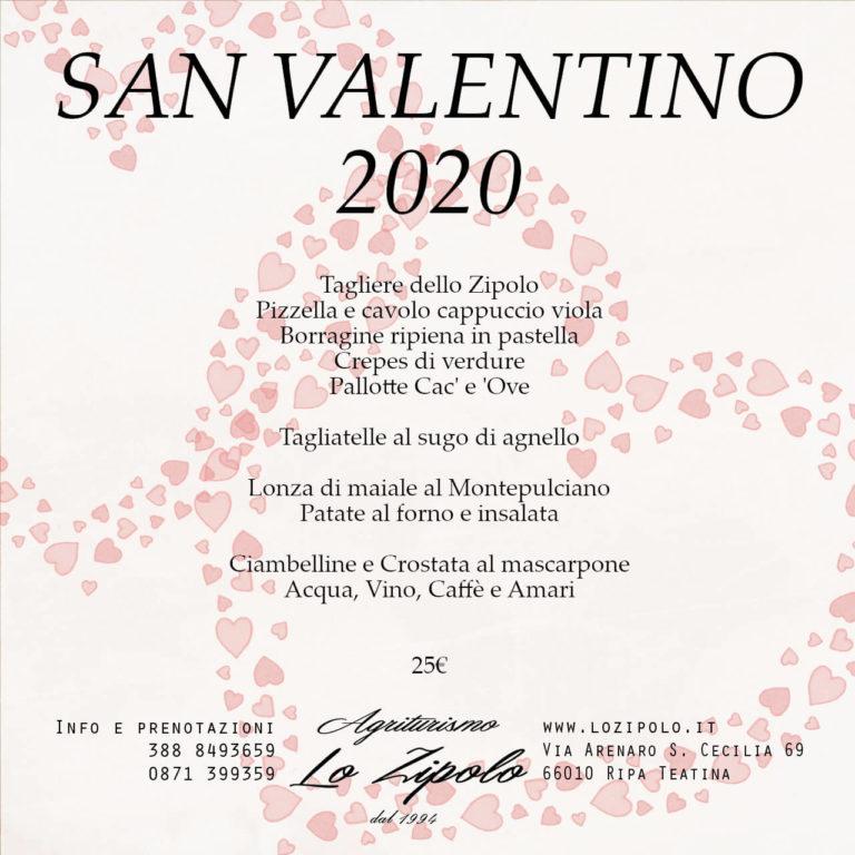 San Valentino 2020 - Agriturismo Lo Zipoalo